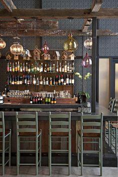LOVE this gypsy bar