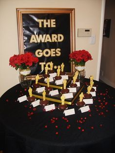2014 oscar party ideas | Oscar/Academy Awards New Years Party Ideas | Photo 2 of 16 | Catch My ...