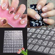 Merkmale:  100% nagelneu und hohe Qualität  Mit Blumenmuster, die schönen und modischen  Geeignet für 3D Nagel Kunst Anwendung  Aufkleber sind bequem, Verzieren Sie Ihre Fingernägel  Mit eleganten und modischen Stil, es ist einfach jeder Nagel-Farbenanpassen  Geeignet für Ihre Party oder modische aussehen  Schützen Sie Nageln von kratzen und machen Sie noch schöner Nagel  Nägel Easy auf natürliche oder künstliche anwenden  Suchen diese so süß und huebsche auf alle Farben Nagel verschwinden…
