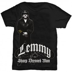 Tricou Lemmy: Sharp Dressed Man