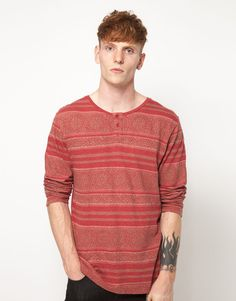 Insight Long Sleeve Top With Grandad Collar - Quite a nice lengthy top. Would suit me.