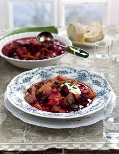 Unser beliebtes Rezept für Borschtsch mit Sauerkraut und mehr als 55.000 weitere kostenlose Rezepte auf LECKER.de.