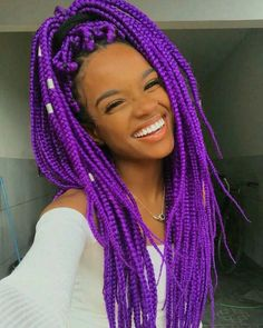 40+ must try trending box braids protective hairstyles you've gotta try in 2021. Side Curly Hairstyles, African Braids Hairstyles Pictures, Box Braids Pictures, Box Braids Hairstyles For Black Women, Cool Braid Hairstyles, Hairstyle Pictures, Protective Hairstyles, Gray Hairstyles, Black Hairstyle