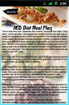 HCG Diet Meal Plan Application should help you to definitely learn about HCG (human chorionic gonadotropin) Food plan and guideline concerning this bodyweight loss strategy<p>Attribute: <br>- Learn the checklist of food which don't harm your HCG Diet program Strategy.<br>- HCG for Excess weight Reduction.<br>- The 10 Greatest Weight-Loss Recommendations At any time<br>- The hCG Diet plan.<br>- Calorie Counter of Authorized Food items.<p><br>About HCG Diet Meal Plan: By now you've in all…