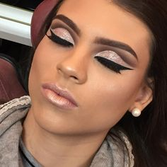 Técnica toda trabalha no glamour ❤️❤️ _____ Such a very glamorous technique ❤️❤️