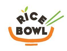Ricebowl restaurant logo design on Behance