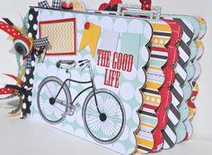 Mini Album Kit Friend Scrapbook Precut with by ArtsyAlbums on Etsy, $39.99