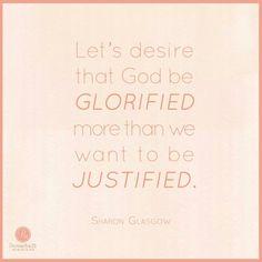God Glorified