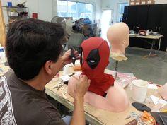 Deadpool - Making of an Iconic Antihero Suit - Tyranny of Style Deadpool Mask, Deadpool Cosplay, Lady Deadpool, Cosplay Tutorial, Cosplay Diy, Comic Movies, Marvel Movies, Deadpool Halloween Costume, Ryan Reynolds Deadpool