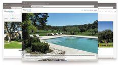 Site internet design MAJORDAMES