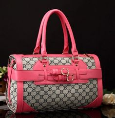 Pink Bag Famous Designer Gucci Bags Pink Fashion Purses | sariasknitncrochet - Bags & Purses on ArtFire