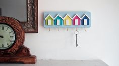 Handmade Beach Hut Key Racks, by That Wooden Shop This shabby chic beach hut key rack has been lovingly hand crafted. We have lots of different
