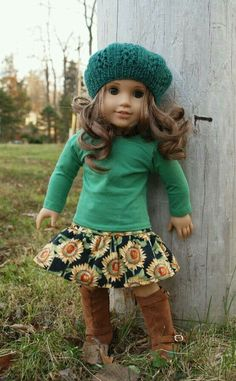 Enjoying the outdoors - American Girl Doll
