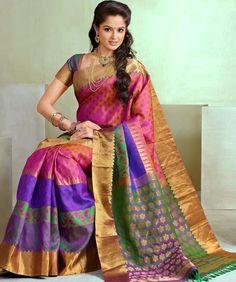 Buy online. Bairavi Traditional Silk sarees BTSS 7242