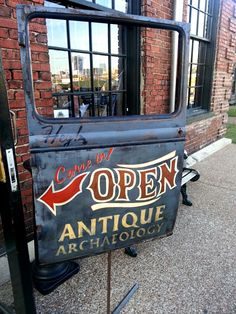 Antique Archaeology in Downtown Nashville