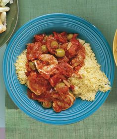 Shrimp With Tomatoes and Olives | Need some quick dinner ideas? Try one of these speedy recipes that take just 15 minutes or less of hands-on work.