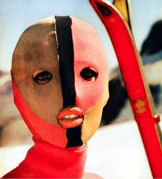 1962 Ski Mask by Emellio Pucci #fashion