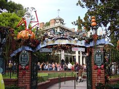 When the Haunted Mansion is taken over by Jack Skellington :) I saw that at disneyland!!!!