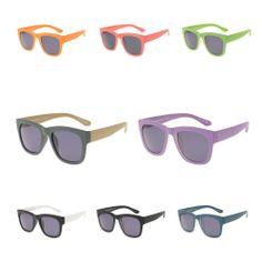 New COLOR SPARK La Digue series Sunglasses wayfarer trendy fashionable eyewear #COLORSPARK #Square
