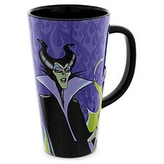 Disney Maleficent Mug - Sleeping Beauty | Disney StoreMaleficent Mug - Sleeping Beauty - Awaken to an attitude adjustment with each new dawn when sipping for a spell from this majestic Maleficent mug. Tame the dragon within before the karma catches up with you!