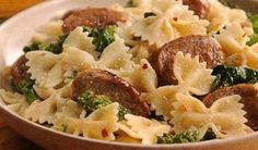 Pasta with Sausage and Broccoli Rabe Recipe