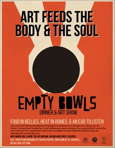 Food bank Empty Bowls by Reilly Case