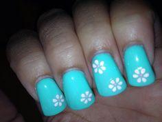 My nail design :) 7/19/13
