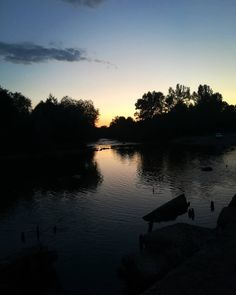 Ginta, Romania #river #sunset #peace #beautifulplace #placetotravel #village #blackriver