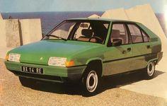 Citroen BX series 1 - 1982-86