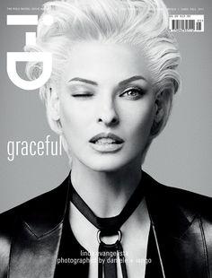 Linda Evangelista I-D magazine Fall 2012