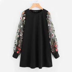 Gender: Women Item Type: Hoodies,Sweatshirts Sleeve Length(cm): Full Fabric Type: Broadcloth Material: Polyester,Spandex Sleeve Style: Regular Clothing Length: Long Pattern Type: Floral