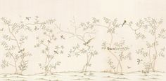 Sybaritic Spaces: The Wait is Over: Digital Chinoiserie Wallpapers