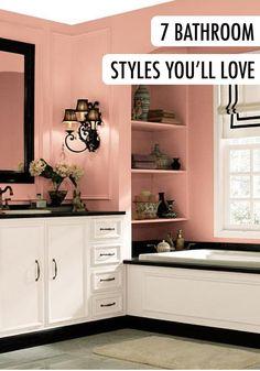 142 best bathroom inspiration images behr paint colors bathroom rh pinterest com