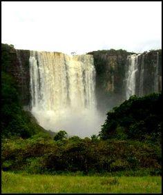 Salto Aponwao, Ciudad Bolívar, en Venezuela