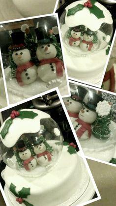 Snowball cake!