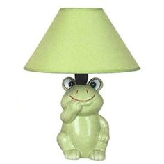 Checkolite Frog Table Lamp, Green  $13