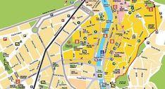 Mapa Turístico: Folleto sobre Sitios de Interés y Atractivos de Turismo