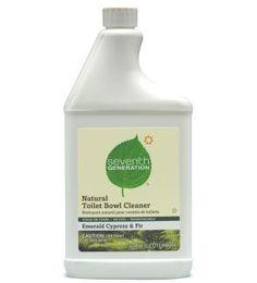 Seventh Generation Toilet Bowl Cleaner, Emerald Cypress & Fir - 32 oz - Live Love Organic