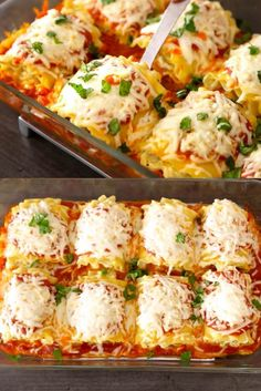Zucchini Lasagna Roll Ups - a delicious way to enjoy lasagna with less effort, perfect for brunch, lunch or dinner!