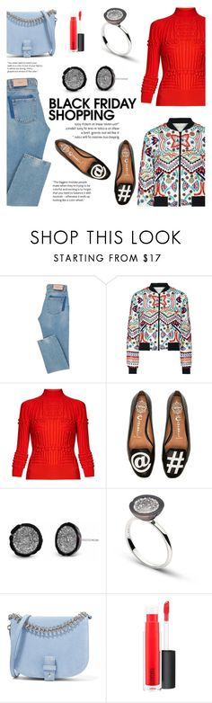 """""""Steal Those Deals: Black Friday"""" by littlehjewelry ❤ liked on Polyvore featuring Alice + Olivia, Mary Katrantzou, Jeffrey Campbell, Little Liffner, MAC Cosmetics, contestentry, blackfriday, pearljewelry and littlehjewelry"""
