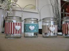 decorare vasetti vetro - Cerca con Google