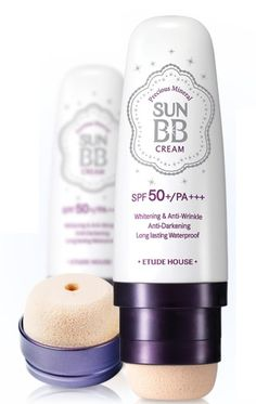 Etude House Precious Mineral Sun BB Cream.  Summer is the most beautiful time of year for many of us with plenty of sunshine and high temperatures. The disadvantage of this is that make-up is usually not waterproof and therefore can run. Available in 2 different colors: - Light Beige: http://www.bbcreamshop.eu/nl/product/115901/etude-house-sun-bb-cream-light. - Natural Beige: http://www.bbcreamshop.eu/nl/product/115902/etude-house-sun-bb-cream-natural-beige