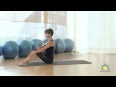 Pilates para Piernas, Abdomen y Glúteos - Ejercicios de Pilates en Casa - YouTube