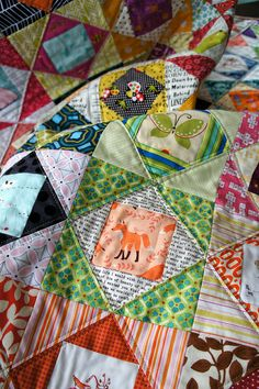 The Plaid Baby eye spy love by Cut To Pieces, via Flickr heehee, there's my little Socks the Fox!