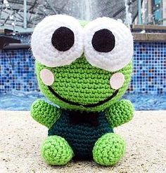 Cute Frog - free crochet pattern