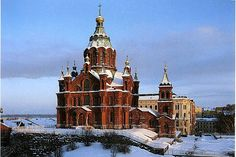 Uspenski Orthodox Cathedral, Finland