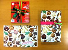How to Use Magazine Pages as Gift Wrap