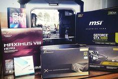 Mais um cliente satisfeito com uma configuração Maximus VIII Hero :) #novoatalho #asus #msi #seasonic #corsair http://ift.tt/29QSbHl