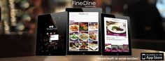 FineDine Digital Tablet Menu for Restaurants, Bars & Cafes Bar Menu, Menu Restaurant, Restaurant Design, Menu Design, Ui Design, Digital Menu, Bar Image, Digital Tablet, Fine Dining