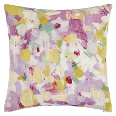 Buy Pink John Lewis Raindrops Cushion from our Cushions range at John Lewis & Partners. Bed Throws, Throw Pillows, Cushions Online, Colourful Cushions, Spare Room, Painting Patterns, Rain Drops, Home Textile, Cushion Covers